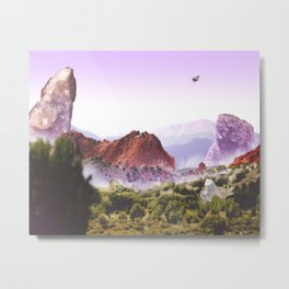 Garden of the Gods Metal Print