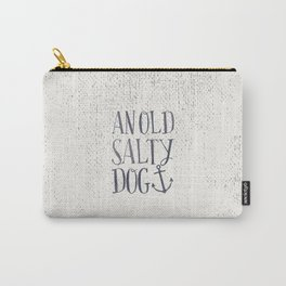 An Old Salty Dog Carry-All Pouch
