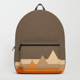 Orange Mountains #society6 #decor #buyart Backpack
