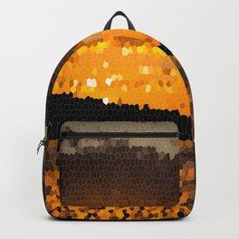 Autumn Sunset Mosaic #decor #society6 Backpack
