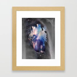 Positive Vibes from Within Framed Art Print