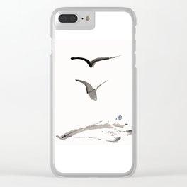 Love Hawk 1 Clear iPhone Case