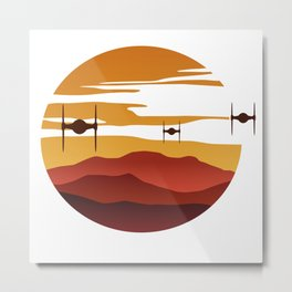 To the sunset Metal Print