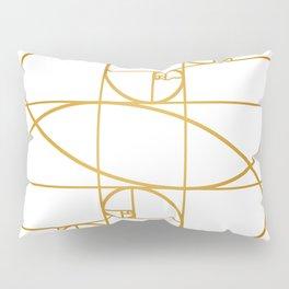 Golden Waves Pillow Sham