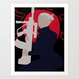 The Valiant Soldier Art Print