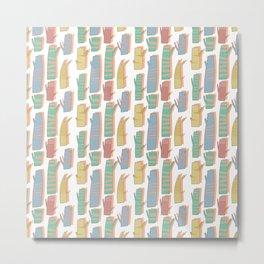 Pattern Project #33 / Tree Trunks Metal Print