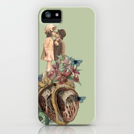 children don't grow up, our bodies get bigger but our hearts get torn up. iPhone Case
