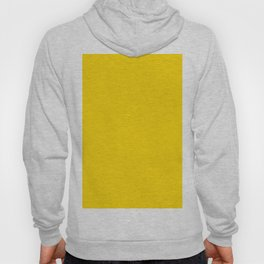 Gold Yellow Solid Color Hoody