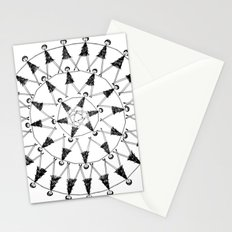by a waterfall Stationery Cards