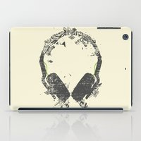 carnage iPad Cases featuring Art Headphones V2 by Sitchko Igor
