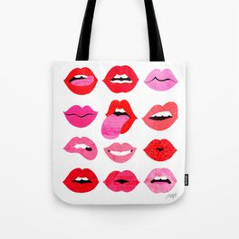 Lips of Love Tote Bag