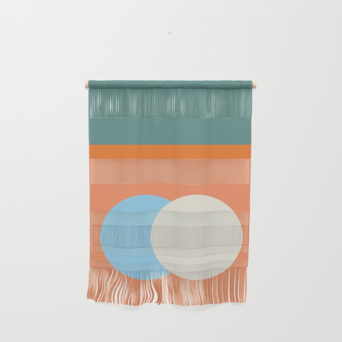 Spring Eclipse Wall Hanging