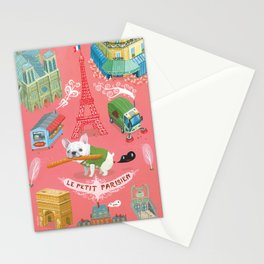 """Le Petit Parisien""  Stationery Cards"