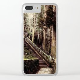 Stone Steps - Japan Nikko Clear iPhone Case