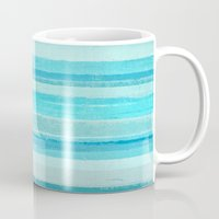 bar Mugs featuring Sand Bar by T30 Gallery
