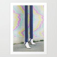 Bazaar #36 Art Print