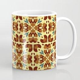Abstract flower pattern 6d Coffee Mug