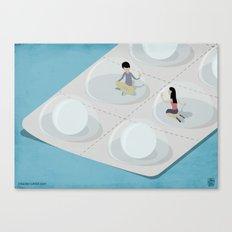 Comfort Pills Canvas Print