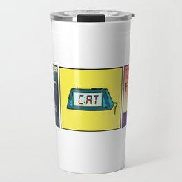Cat O'Clock Travel Mug