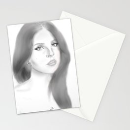 Del Rey (plain) Stationery Cards