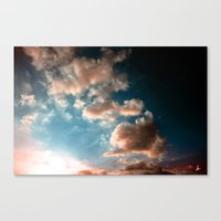 heaven Canvas Prints featuring Heaven by Sofia_Katsikadi