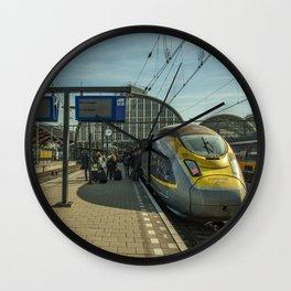 Amsterdam Centraal Eurostar Wall Clock