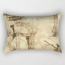 Codex: AT-AT Rectangular Pillow