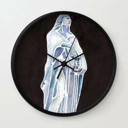 Veritas: Goddess of Truth Wall Clock