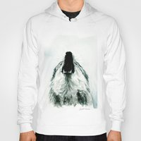 howl Hoodies featuring HOWL by Joelle Poulos