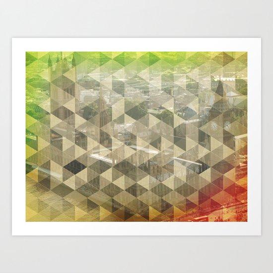 WP pattern Art Print