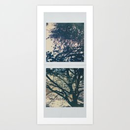 up below Art Print