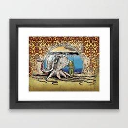 The Octophant Framed Art Print