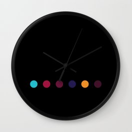 Six Dots Wall Clock