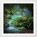 Enchanted Pond by fantasyartdesigns