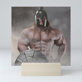 Spartan-Warrior Mini Art Print