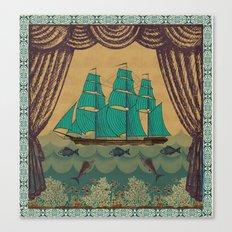 Schooner 2 Canvas Print