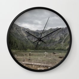 Avalanche Lake No. 1 - Glacier NP Wall Clock