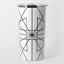 Triangle Love Travel Mug