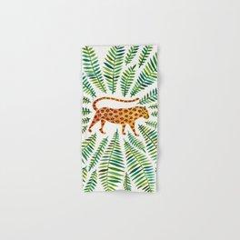 Jaguar – Green Leaves Hand & Bath Towel