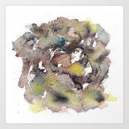 Green ing Art Print