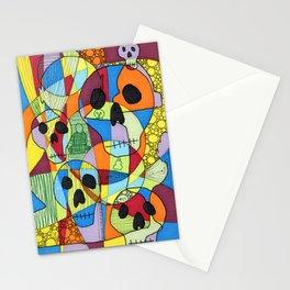 Skulls&Buddha 45 Stationery Cards