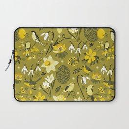 Finally Easter! [mustard] Laptop Sleeve