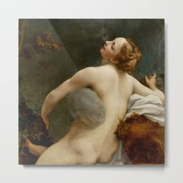 "Antonio Allegri da Correggio ""Jupiter and Io"" Metal Print"