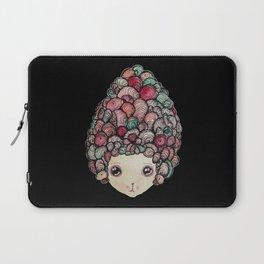 Victoria Swirls - Black Laptop Sleeve