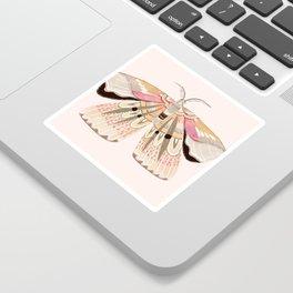 Grace Moth Blush Sticker