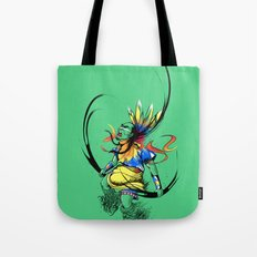 Colors of Anger Tote Bag
