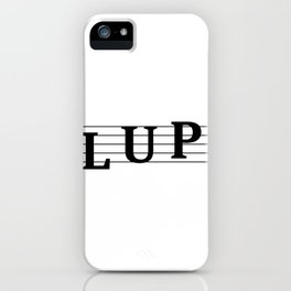 Name Lupe iPhone Case