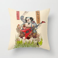 Metaruu! Throw Pillow