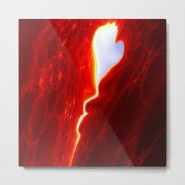 the stolen Heart / das gestohlene Herz Metal Print