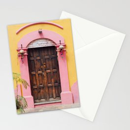 Pink & Yellow Stationery Cards